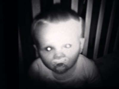 scary baby monitor