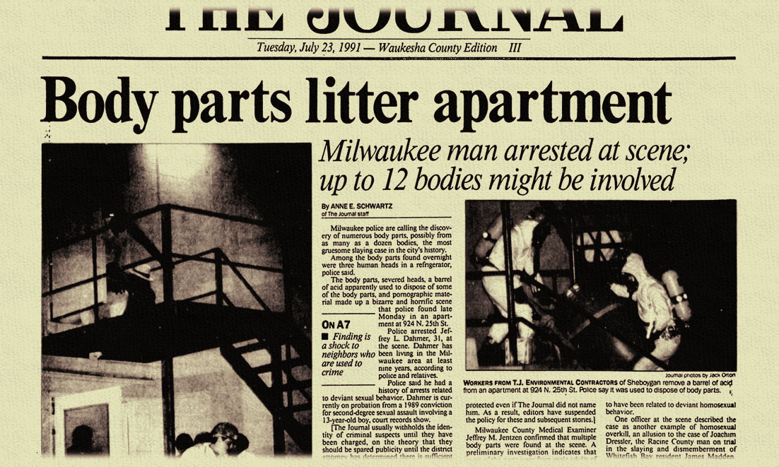 Jeffrey Dahmer article