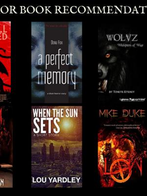 Top Ten Horror Book Recommendation - Januray 2019