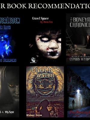 Top Ten Horror Book Recommendation - November