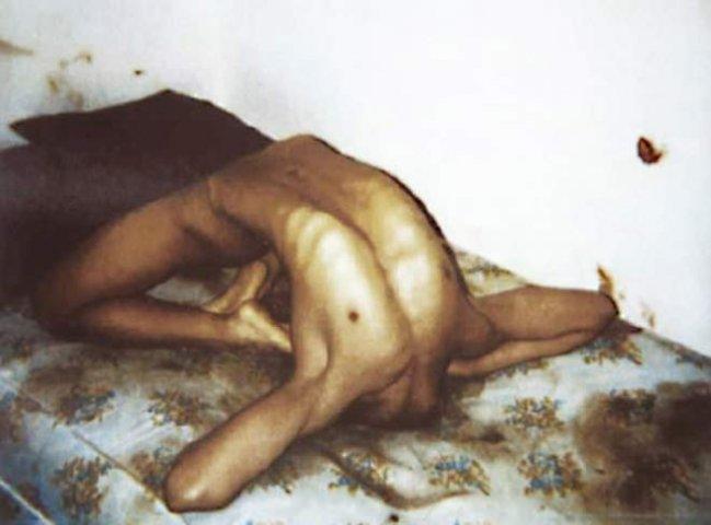 Jeffrey Dahmer's Victim, just after he killed him