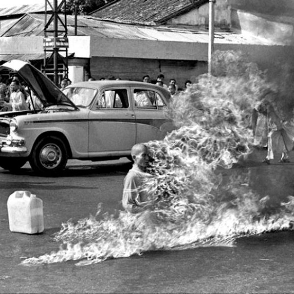 The true Story of Monk burning himself for discrimination of Buddhists