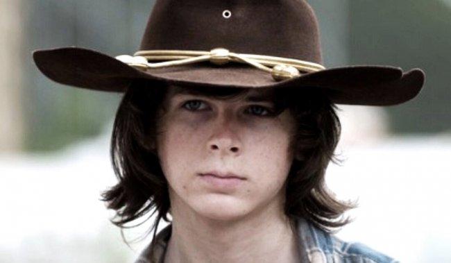 The Walking Dead's Chandler Riggs FINALLY Cut His Hair