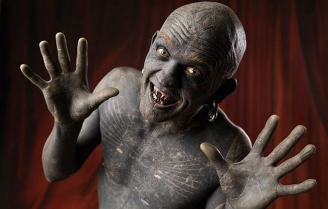 Body Modifications and Real-Life Horror Characters