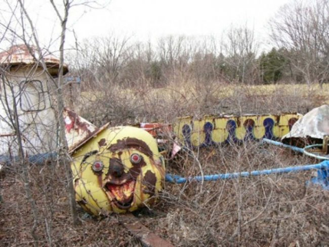 The Tunnel of Horror in Wisconsin