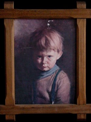 The Crying Boy Painting