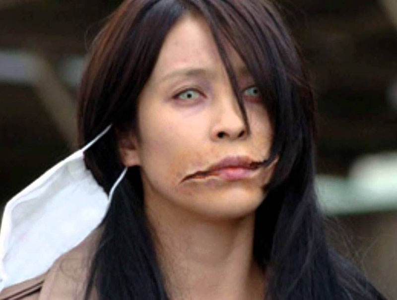 Kuchisake Onna Aka The Slit Mouth Woman Horror Galore